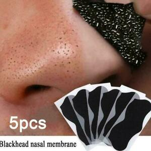5Pcs Blackhead Acne Nasal Patch Nasal Mask Skin Strips Deep Nose X3P9