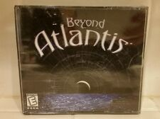 Beyond Atlantis PC CD Rom Computer Game for Windows 95 98 ME Sealed