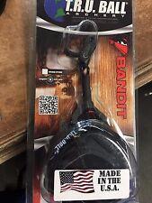 T.R.U. Ball Archery Black Std Jaw JR Buckle Bandit Release - Ship Free USA