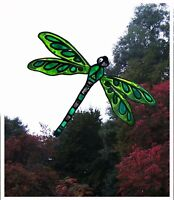 Dragonfly Stained Glass Effect Window Cling