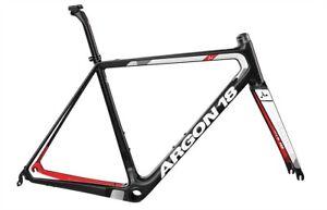 Argon 18 Large Gallium Pro Carbon Frameset Red/Black Brand New