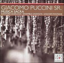 FREE US SHIP. on ANY 2 CDs! ~LikeNew CD : Giacomo Puccini, Sr.: Musica Sacra