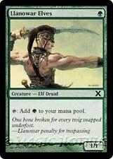 LLANOWAR ELVES Tenth Edition MTG Green Creature — Elf Druid Com