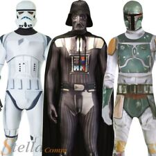 Adulto Oficial Star Wars Morphsuits Halloween Fancy Dress Costume Outfit