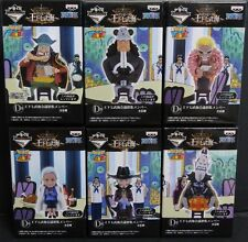 ONE PIECE Seven Warlords of the Sea WCF World Collectable Figure  Party full set
