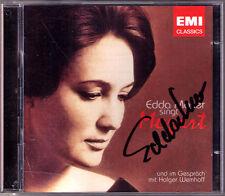 Edda Moser firmato canta Mozart + colloquio con Holger wemhoff 2cd FLAUTO MAGICO
