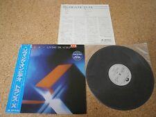 Trans-X ~ Living on Video/ Japan LP/ OBI Sheet White Label Promo