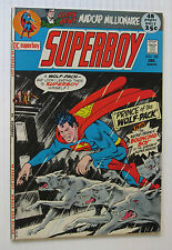 Superboy #180 (DC 12/71) FN/VF 'Prince of the Wolf-Pack!' 52 Pgs. Nice!!