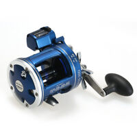12 Ball Bearings Fishing Trolling Reel with Line Counter Alarm Bell Drum A4A7