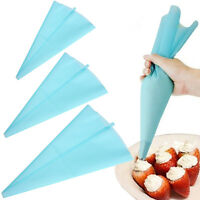 30cm Silicone Reusable Icing Piping Cream Pastry Bag DIY Cake Decorating Tool