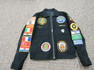 Desert Storm US Navy Tour jacket USS Yellowstone(AD-41) 1988-1989 and 1990-1991