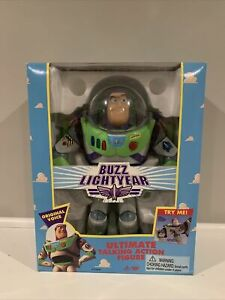 1995 Original Toy Story Buzz Lightyear Ultimate Talking Action Figure  In Box