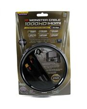 Monster Cable 1000HD Ultimate-High Speed HDMI 1 M 3 FT Ready for 3D Displays