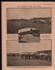 WWI aircraft Avion Bombs Zeebrugge Ostende Ghistelles /Vosges 1915 ILLUSTRATION