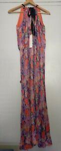 Uttam Boutique London Colourful Summer Dress Size 16