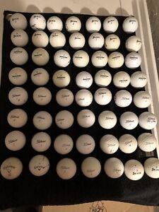100 Golfbälle AAAA/AAAA ausgesuchter Marken