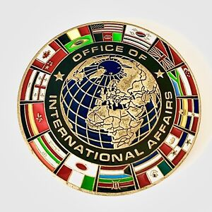 Customs And Border Patrol Challenge Coin - Office Of International Affairs