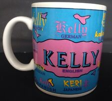 Kelly Name Coffee Mug Cup Spelling Many Languages Giftcraft Papel Design