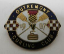 1907 Outremont Curling Club Pin