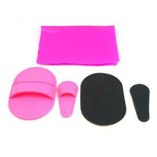 10Pcs Legs Skin Pad Smooth Away Arm Face Hair Removal Remover Exfoliator Set New