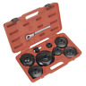 Sealey Oil Filter Cap Wrench Set 9pc - Commercials - VS7007