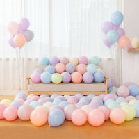 Macaron Balloons Latex Balloon 10 inch Party Decoration 100Pcs/lot Candy Colors