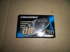 Memorex dB 90 Minutes Ferric normal type 1 CASSETTE TAPE New & Sealed
