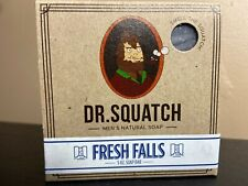 Dr. Squatch Fresh Falls Bar Soap 5oz - Limited & Sold Out!