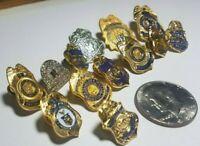 Federal MINI PIN set 13 pc CID DOJ BIA DOD Treasury Mint Commerce Customs Bureau
