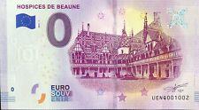 BILLET 0 EURO SOUVENIR TOURISTIQUE HOSPICES DE BEAUNE 2019-1