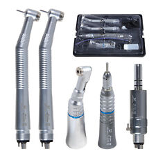 Yabangbang Dental Low Amp High Speed Handpiece Air Turbine 4 Hole Air Motor Kit Ca