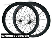 CSC 700C Carbon Wheels Cycling 23mm Width 50mm Clincher Sapim Spokes Racing