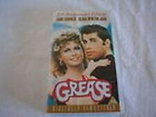 079 VHS  Grease - John travolta Olivia newton- John