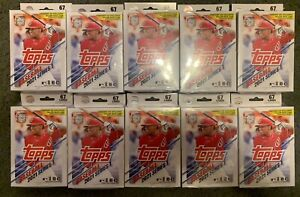 2021 Topps Baseball - Walgreen Exclusive Hanger - Yellow Parallels - 20 BOXES!