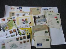 Deutschland Belege, Briefe, Postkarten, Kiloware, Einzelstücke usw, über 190 St.