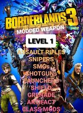 PS4/XBOX/PC - Borderlands 3 Modded Weapons Level 1 MH10 Buy 2 get 1 Free