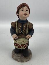 Sarah's Attic Drummer Boy Figurine 5� Hewett Sao 1990