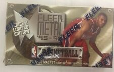 1995-96 Fleer Metal Series 2 Basketball Factory Sealed Hobby Box