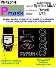 MOTORE Supermarine Spitfire Mk. V PITTURA Maschera per Revell kit #72014 1/72 pmask
