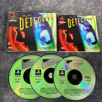 Psychic Detective PS1 PlayStation 1 PAL Game Complete Original Rare Big Box