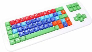 Clevy Color Coded German Computer Keyboard
