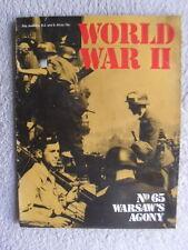 WW2 Poland in WW2 Warsaw's Agony Crime at Katyn Russia War Military magazine lot