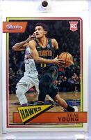 2019 18-19 Panini Chronicles Classics Trae Young Rookie RC #665, Atlanta Hawks