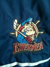 Peoria Riverman Player Worn Jacket ECHL AHL SPHL Blues Blackhawks