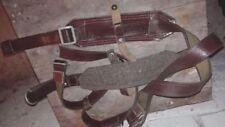 Original USSR Soviet Russian Army Uniform Chest Rig Belt Suspenders Size 2