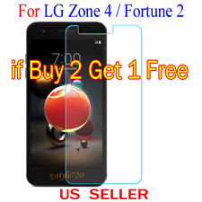 1x Clear LCD Screen Protector Guard Cover Shield Film For LG Zone 4 / Fortune 2