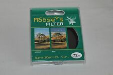 Moose's 72mm Warm Circular Polarizing Filter