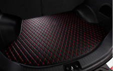 2013-2016 For Honda Accord  Rear Cargo Liner Tray Leather Trunk Floor Mat Cover