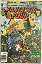 Fantastic Four #185 FN+ Aug 1977 George Perez 1st Nick Scratch Impossible Man