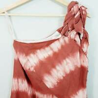SASS & BIDE | Womens Tie Dye Linen Dress [ Size AU 6 or US 2 ]